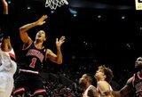 """Bulls"" pralaimėjo Portlende ir vėl prarado D.Rose'ą"