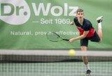 Ukrainoje – tenisininko A.Sabaliausko triumfas ir P.Paukštytės antra vieta