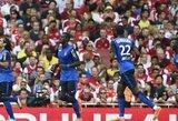"""R.Falcao vedamas """"Monaco"""" įveikė """"Arsenal"""" klubą"""