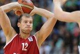 S.Monia: gėda dėl tokio mūsų žaidimo mače prieš Lietuvą