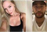 Modelis iš Brazilijos prabilo apie Neymaro prievartos detales: kodėl ji po patirto smurto bendravo su futbolininku ir filmavo, kaip jį muša?