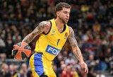 """S.Wilbekino vedamas """"Maccabi"""" namuose parklupdė CSKA"""