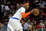 """""""Knicks"""" treneris kritikavo gynybą ir neliko patenkintas C.Anthony sprendimu"""