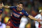 """L.Suarezo """"hat-trickas"""" privertė pasiduoti """"Eibar"""" klubą"""