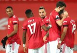 """Antruoju bandymu 11 m baudinį realizavęs B.Fernandesas padovanojo """"Man Utd"""" pergalę"""