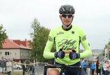 Belgijoje – solidus Lietuvos jaunių dviračių sporto čempiono pasirodymas