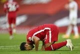 """""""Hat-tricką"""" pelnęs M.Salah pagerino W.Rooney priklausiusį """"Premier"""" lygos rekordą"""
