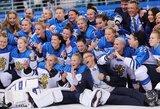 Suomijos ledo ritulininkės sutrukdė rusėms iškovoti pirmuosius olimpinius medalius per istoriją