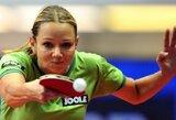 """R.Paškauskienė sėkmingai įveikė """"World Tour"""" serijos stalo teniso turnyro Čekijoje kvalifikaciją"""