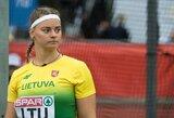 M.Morauskaitė pagerino asmeninį rekordą, I.Zarankaitė Lietuvos rinktinei iškovojo 9 taškus