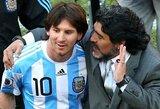 Treneris įvardijo esminį skirtumą tarp D.Maradonos ir L.Messi
