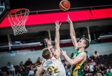 Įspūdingas ruso tritaškis ir klaida lemiamoje atakoje užkirto lietuviams kelią link pusfinalio