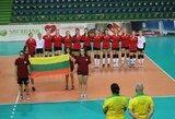 Lietuvos tinklininkės pergale baigė pasirodymą Europos jaunimo čempionato atrankoje