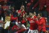"""""""Benfica"""" klubas namuose įveikė svečius iš Dortmundo"""
