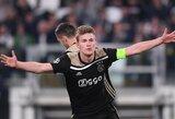"""""""Ajax"""" pasiekė susitarimą su """"Juventus"""" dėl M.De Ligto"""