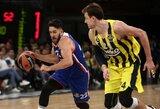 """V.Micičius žaidė beveik 40 minučių, o išvykoje užtikrintą pergalę iškovojusi """"Anadolu Efes"""" persvėrė finalo serijos rezultatą"""