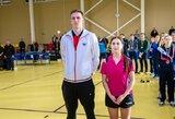 M.Stankevičius ir I.Preidžiūtė – Lietuvos stalo teniso čempionato nugalėtojai