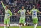 """Vokietijos """"Bundeslygoje"""" lygiosios tarp """"Mainz 05"""" ir """"Wolfsburg"""" komandų"""