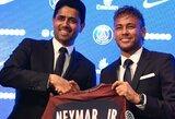 """PSG direktorius: """"Praneškite mums už kiek """"Barcelona"""" įsigijo Neymarą"""""""