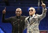 Aiškėja, kiek būtų verta C.McGregoro ir F.Mayweatherio kova UFC, M.Bispingas prognozuoja nokautą per 35 sekundes