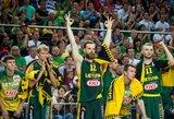 Europos čempionato dalyvių reitinge Lietuvos rinktinės pozicija nekinta