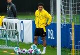 """""""Borussia"""" direktorius patvirtino: J.Sancho bent dar vienam sezonui lieka rungtyniauti Vokietijoje"""