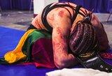 J.Stoliarenko kova sužavėjo pasaulį: pasipylė sveikinimai iš UFC žvaigždžių ir priblokštų gerbėjų