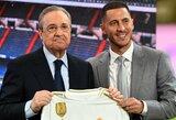 """R.Carvalho džiaugiasi E.Hazardo atvykimu į """"Real"""": """"Jis yra puikus pirkinys"""""""