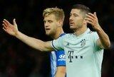 """""""Bayern"""" pradeda buksuoti: patyrė pirmą pralaimėjimą Vokietijoje"""