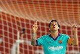 Po pertraukos sugrįžęs L.Messi užfiksavo naują rekordą