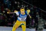 K.Dombrovskis paskutiniame pasaulio biatlono taurės etape pateko į persekiojimo lenktynes