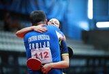 R.Paškauskienei ir A.Karakaševičiui – Europos čempionato bronza