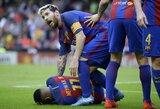 """Bjaurus """"Valencia"""" fanų elgesys įsiutino L.Messi"""