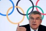 """TOK prezidentas T.Bachas: """"Jei olimpinių žaidynių nepavyks suorganizuoti 2021m. vasarą, jos bus atšauktos"""""""