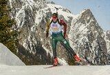 Biatlonininkus nuo svajonių išsipildymo skyrė po vieną šūvį, tačiau rinktinė pasiekė rekordą