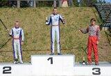 S.Juodviršis pergalę Baltijos kartingo čempionato etape skyrė tėčiui