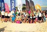 Vilniuje praūžė pirmasis Lietuvos paplūdimio tinklinio čempionato etapas