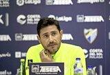 """""""Malaga"""" suspendavo trenerį dėl paviešinto intymaus vaizdo įrašo"""