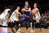 """K.Porzingis apie """"Knicks"""" problemas: """"Mes galvojame tik apie save"""""""