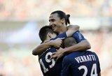 Pirmieji K.Gameiro įvarčiai atvedė PSG klubą į pergalę