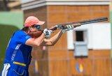 Olimpiadai besiruošiantis R.Račinskas startavo pasaulio šaudymo sporto taurės etape Azerbaidžane