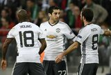 """""""Man Utd"""" užbaigė savo darbą Prancūzijoje, bet traumą patyrė H.Mkhitaryanas"""