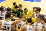 Lietuvos 16-mečiai krepšininkai neprasibrovė į olimpinio festivalio pusfinalį