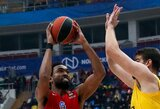CSKA legionieriaus 38 taškų pergalei prieš estus nepakako
