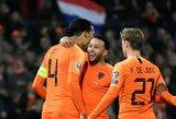 Atrankos į Europos čempionatą starte – pergales iškovojusi Belgija ir Kroatija, olandai triuškino baltarusius