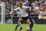"""""""Valencia"""" toliau persekioja nelaimės – klubo puolėjui lūžo koja"""