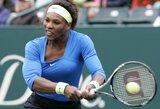 Į JAV moterų teniso rinktinę pakviesta tik viena iš seserų Williams