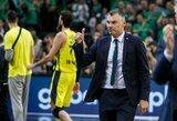 Sirgalių balsas: Š.Jasikevičius – trečias geriausias Eurolygos treneris