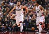 """J.Valančiūnas baudas meta taip, kaip per NBA istoriją atakavo tik keturi """"centrai"""""""