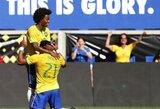 Hulkas nubaudė Kosta Riką ir atvedė į pergalę Braziliją